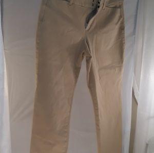 Khaki Jean's, size 10r, mid-rise